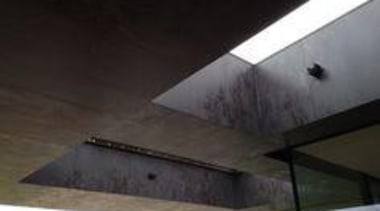 Laminam Oxide Nero - Laminam Oxide Nero - architecture, beam, ceiling, daylighting, lighting, property, roof, structure, black
