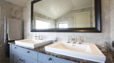 Bernini silver matt bathroom wall tile. - Bernini bathroom, countertop, home, interior design, property, room, sink, gray