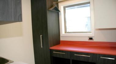 modern melamine laundry - modern melamine laundry - floor, home, interior design, property, real estate, room, window, wood, gray, black