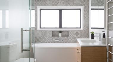 Armadale Road 5 - Armadale Road 5 - architecture, bathroom, floor, interior design, product design, room, sink, white, gray