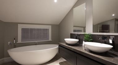 Img9027 - architecture | bathroom | interior design architecture, bathroom, interior design, real estate, room, sink, gray, black