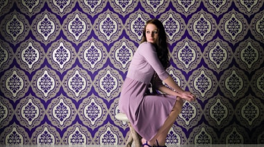 Akoya Range - Akoya Range - beauty | beauty, fashion, girl, model, photo shoot, photography, purple, sitting, gray, purple