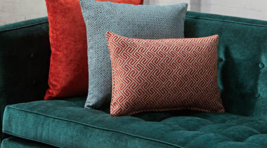 Soft, plush and inviting, this dynamic collection is bed frame, bed sheet, couch, cushion, duvet cover, furniture, linens, loveseat, pillow, sofa bed, studio couch, textile, throw pillow, teal, gray