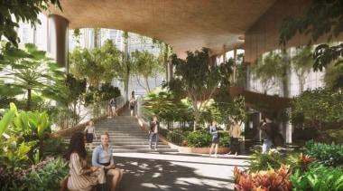 BIG & CRA arecales, condominium, estate, hacienda, home, outdoor structure, palm tree, plant, property, real estate, resort, tree, brown
