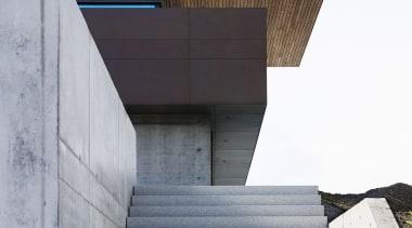 Skallan House - Dekton Kadum Façade 07 - angle, architecture, building, daylighting, daytime, facade, house, line, sky, structure, wood, white