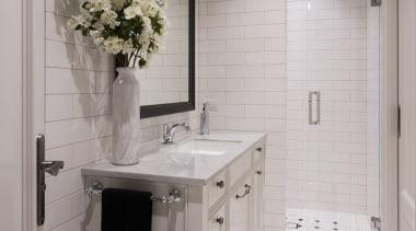 Bathroom - bathroom | bathroom accessory | countertop bathroom, bathroom accessory, countertop, floor, flooring, home, interior design, room, sink, tile, gray
