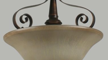 Denver Semi-Flush, from Lighting Inspirations - denver semi ceiling fixture, light fixture, lighting, gray, brown