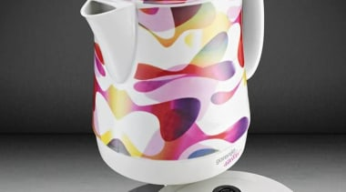 Kitchen Appliances designed by Karim Rashid ceramic, coffee cup, cup, kettle, porcelain, product, product design, serveware, tableware, teapot, gray, black