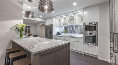 Entrant: Kira Gray – 2015 NKBA Design Awards cabinetry, countertop, cuisine classique, interior design, kitchen, real estate, gray