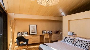 the boatsheds6226.jpg - the_boatsheds6226.jpg - bedroom | ceiling bedroom, ceiling, interior design, property, real estate, room, suite, wall, wood, orange