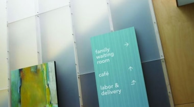 Signboards featuring Formica Aqua Dotscreen - Signboards featuring floor, product, white