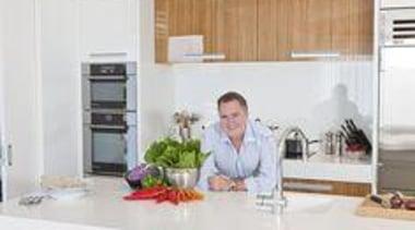Simon Gault - Simon Gault - countertop   countertop, home, interior design, kitchen, property, real estate, window, white