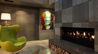 IMG_6187 - fireplace | hearth | interior design fireplace, hearth, interior design, lobby, room, black, brown