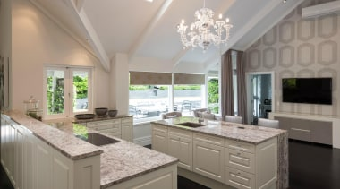 TIDA – Proudly brought to you by Kitchen ceiling, countertop, cuisine classique, daylighting, estate, home, interior design, kitchen, real estate, window, gray