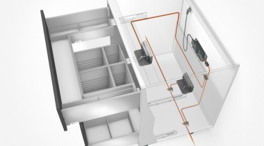 SERVO-DRIVE for LEGRABOX - product | white product, white