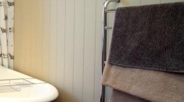 HardieGroove Lining - HardieGroove Lining 3 - bathroom bathroom, curtain, floor, flooring, furniture, hardwood, interior design, laminate flooring, plumbing fixture, room, sink, tile, wall, window, window covering, window treatment, wood, wood flooring, orange