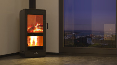 NZ's Most Efficient ULEB fireplace, hearth, heat, home appliance, stove, wood burning stove, brown, black