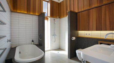 Fraser Cameron Architects architecture, bathroom, floor, interior design, property, real estate, room, gray, brown
