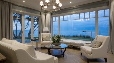 Living area - Living area - ceiling | ceiling, estate, home, interior design, living room, penthouse apartment, property, real estate, window, gray
