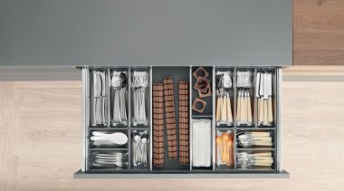 ORGA-LINE inner dividing system – so many practical furniture, product, product design, shelf, shelving, gray