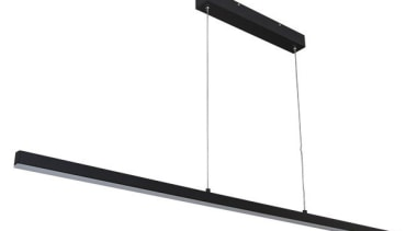 FeaturesThe very sleek and slim-line design of the ceiling fixture, light, light fixture, lighting, product design, white