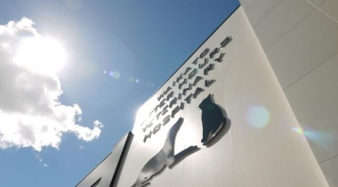 Waikato Veterinary Hospital - Waikato Veterinary Hospital - architecture, building, cloud, daytime, sky, gray, white