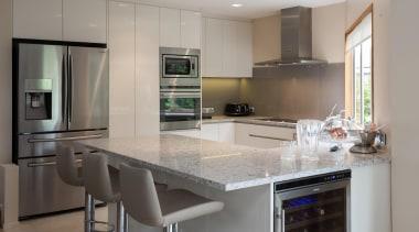 glass splashback, stone tops - Martin Kitchen - cabinetry, countertop, cuisine classique, home appliance, interior design, kitchen, real estate, room, gray