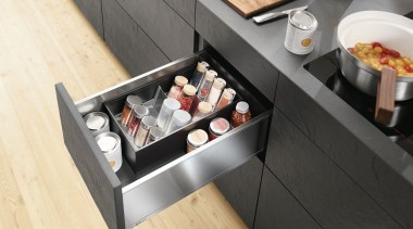 AMBIA-LINE kitchen accessories – organization at its best. cuisine, food, furniture, table, black, yellow