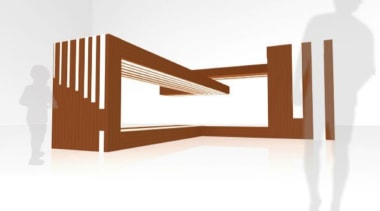 by Thomas Denhardt - Aniso-strip - angle | angle, furniture, product, product design, table, white