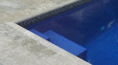 velvet platinum pool exterior tiles - Velvet Range daylighting, floor, flooring, swimming pool, tile, gray, blue