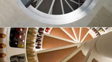Modern Wine Cellar Ideas - Modern Wine Cellar product design, wheel, gray