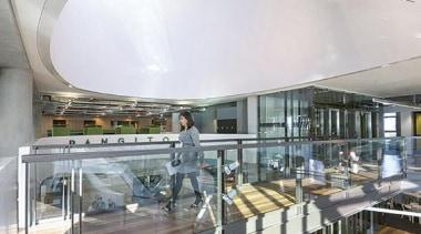 MERIT WINNERASB North Wharf (2 of 4) - architecture, building, ceiling, daylighting, gray