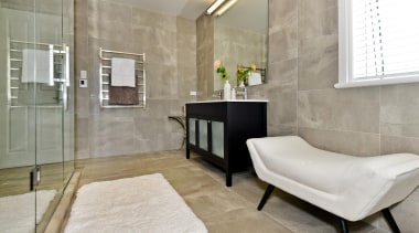 098open2viewid31278025sunnysideroad - 098 Sunnyside Road - bathroom | bathroom, floor, flooring, home, interior design, real estate, room, tile, wall, wood flooring, gray