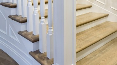 Stairway - baluster | floor | flooring | baluster, floor, flooring, handrail, molding, product design, stairs, structure, gray