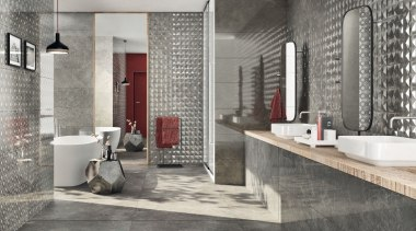 Trilogy Sandy Grey - Trilogy Sandy Grey - bathroom, floor, flooring, interior design, room, tile, wall, gray
