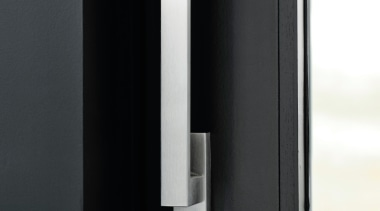 LSQ231 - Solid Internal Lift-Up Sliding Door Handle product design, black