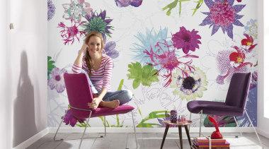 Italian Color Range - Fleur de Paris Interieur decor, floral design, floristry, flower, flower arranging, interior design, lilac, pink, plant, purple, violet, wallpaper, white
