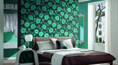 Flock III Range bed, bed frame, bed sheet, bedroom, furniture, home, interior design, textile, wall, window, window covering, gray, teal