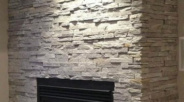 Ledgestone Collection -Need to contact Natural Stone Veneers brick, fireplace, hearth, heat, wall, gray, black