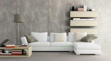 Dekton Keon Duvar Kaplama - Dekton Ventus Zemin angle, chaise longue, coffee table, couch, floor, furniture, interior design, living room, product design, sofa bed, table, wall, gray