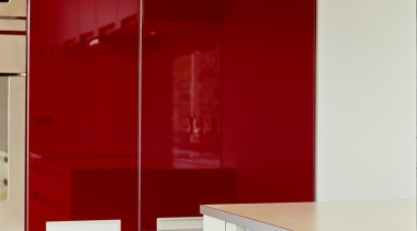 Korokoro Kitchen - Korokoro Kitchen - cabinetry | cabinetry, countertop, interior design, kitchen, red, room, wall, red, white