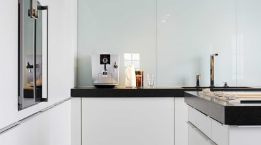 Black and White Kitchen IdeasFor more information, please countertop, home appliance, interior design, kitchen, white