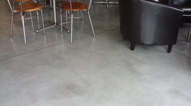 Micro Topping 34 - Micro Topping_34 - chair chair, concrete, floor, flooring, furniture, hardwood, laminate flooring, table, tile, wood, wood flooring, gray, black