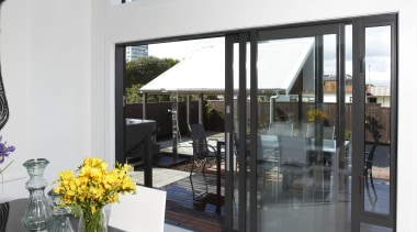 For more information, please visit www.fwds.co.nz architecture, door, glass, house, interior design, property, window, white