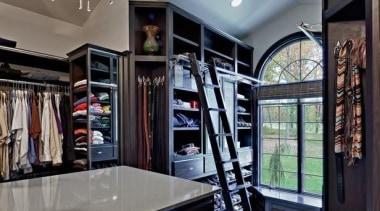 WALK IN CLOSET - WALK IN CLOSET - cabinetry, closet, interior design, room, gray, black