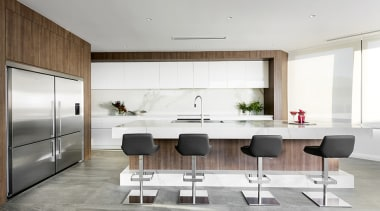 Winner: TIDA International Kitchen of the YearWinner: TIDA floor, house, interior design, kitchen, product design, white