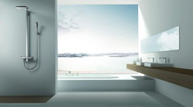 Waterware have searched out tapware, vanities, toilets, baths bathroom, glass, interior design, plumbing fixture, tap, white, gray