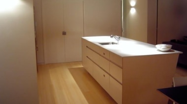 Island - Stone Italiana SGA Design - Stone cabinetry, chest of drawers, countertop, drawer, floor, flooring, furniture, hardwood, interior design, kitchen, lighting, property, room, sink, wood, brown