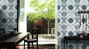 Chicago Range - Chicago Range - curtain | curtain, home, interior design, living room, pattern, textile, wall, wallpaper, window, window covering, window treatment, black, white