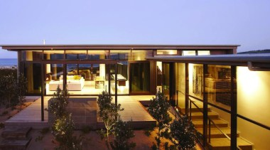 omaha - estate | facade | home | estate, facade, home, house, lighting, property, real estate, resort, roof, villa, teal, black